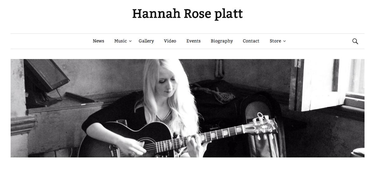 Hannah Rose Platt Site