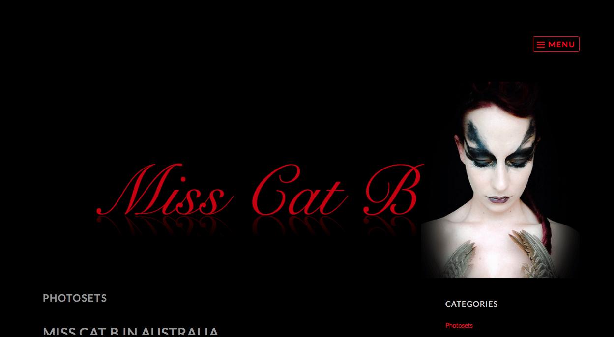 Miss Cat B – Official Site